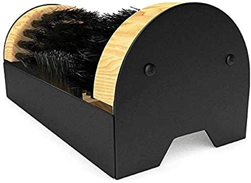 Mr. Mud Eater Boot Brush Cleaner Scraper - Floor Mount with Hardware Included for Indoor/Outdoor Installation