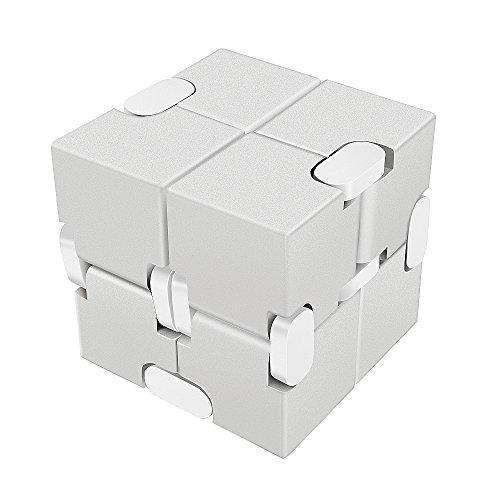 [LilBit] Infinity Cube インフィニティキューブ 無限キューブ アルミニウム合金 (銀)