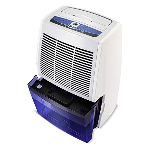 New Tennis Indoor Air Dehumidifier with Drain Hose, 25L/Day, Silent Clothes Dryer, 8L Large Water Ta...