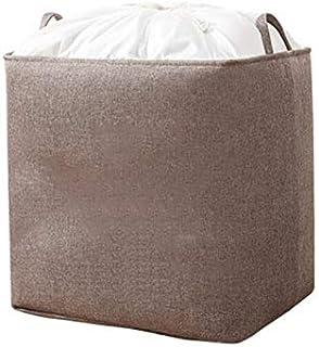Lpiotyucwh Paniers et Boîtes De Rangement, Sac de rangement de vêtements en tissu, sac de rangement de voyage pliable, pou...
