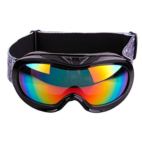 Ski Goggles Gafas de Esquí,Gafas Esqui Snowboard Nieve Espejo Anti Niebla Gafas de Esquiar Protección UV Magnéticos Esférica Lentes,para Mujer Adultos Juventud Jóvenes,Anti Niebla Gafas de Esquiar OTG