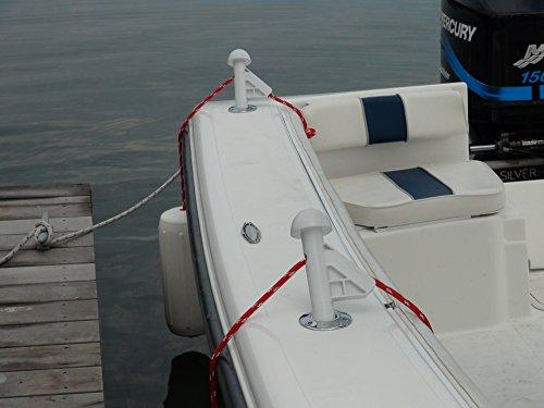 DLFender Power Boat, White (2-Pack)