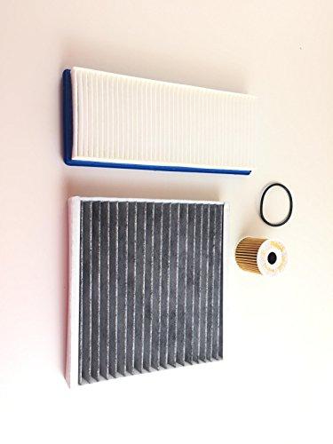 Ölfilter Luftfilter Aktivkohlefilter Smart Fortwo 451 0.8 CDI