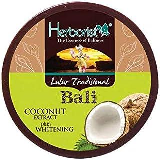 Herborist ハーボリスト インドネシアバリ島の伝統的なボディスクラブ Lulur Tradisional Bali ルルールトラディショナルバリ 100g Coconut ココナッツ [海外直送品]
