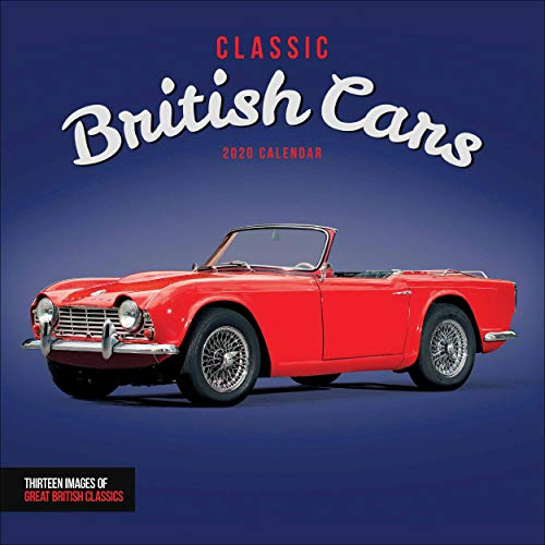 Classic British Cars Square Wall Calendar 2020