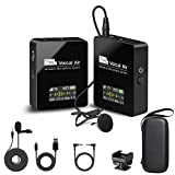 Best Compact Video Cameras - Pixel Wireless Lavalier Microphone - Compact Wireless Microphone Review
