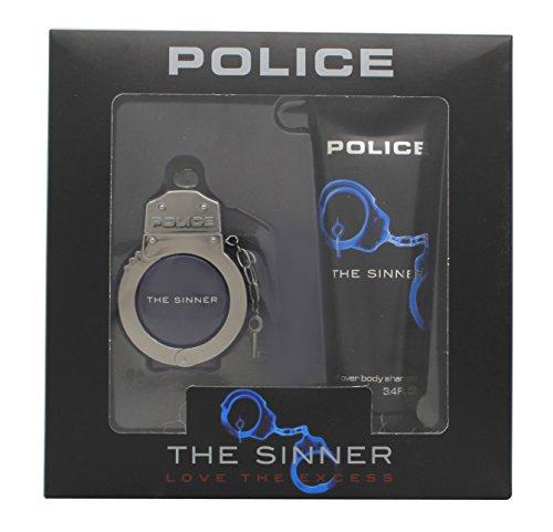 POLICE THE SINNER EDT 30 ML + BODY SHAMPOO 100 ML SET REGALO