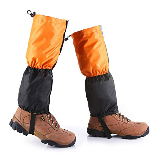 ZQTHL Leg Gaiters, Senderismo Polainas Pierna Polainas, Waterproof Snowproof Windproof para Hombres Mujeres Camping, Senderismo, Caminar, Escalar, Esquiar,c