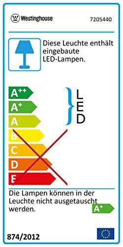 Deckenventilator aus modernem Edelstahl mit Lampe Bild 4*
