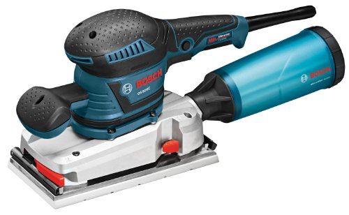 Best Bargain Bosch OS50VC Electric Orbital Sander  – 3.4 Amp 1/2 in. Finishing Belt Sander Kit with Vibration Control for 4.5 in. x 9 in. Sheets
