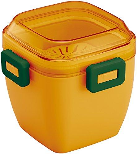スケーター ふんわり盛れる サラダランチボックス 弁当箱 620ml マルシェカラー かぼちゃ PFDN6N