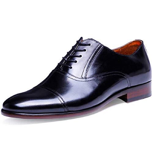 [フォクスセンス] ビジネスシューズ 革靴 紳士靴 メンズ 本革 ストレートチップ ブラック 28.0cm 201607-11