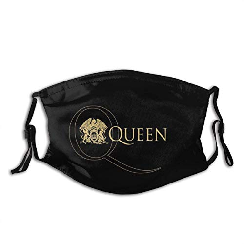 Mundschutz Queen Rock Band Freddie Mercury Mouth Cover Face Cover Headscarf Outdoor Seamless Reusable Mouth Scarf