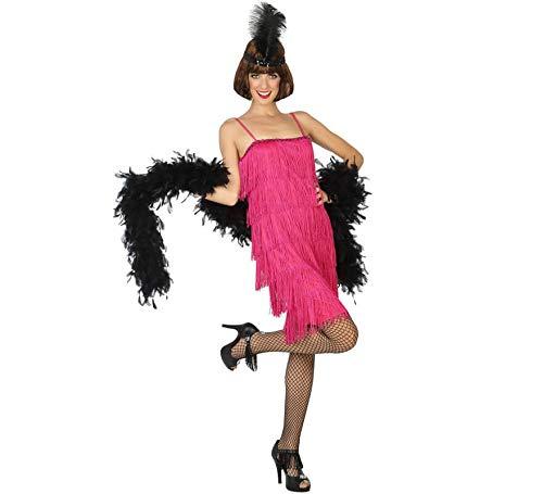 ATOSA disfraz charleston rosa mujer adulto XS