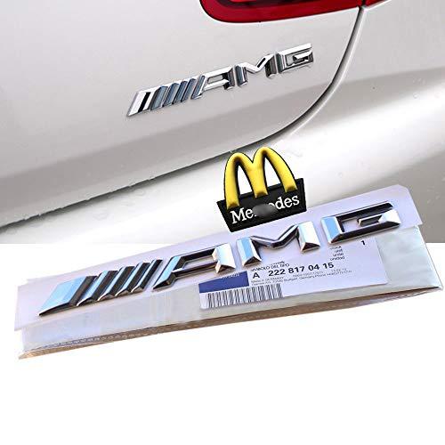 Emblema con logo ///AMG nuevo estilo en 3D de Ricoy, en pl�stico ABS con adhesivo para regalo decorativo en carrocer�a