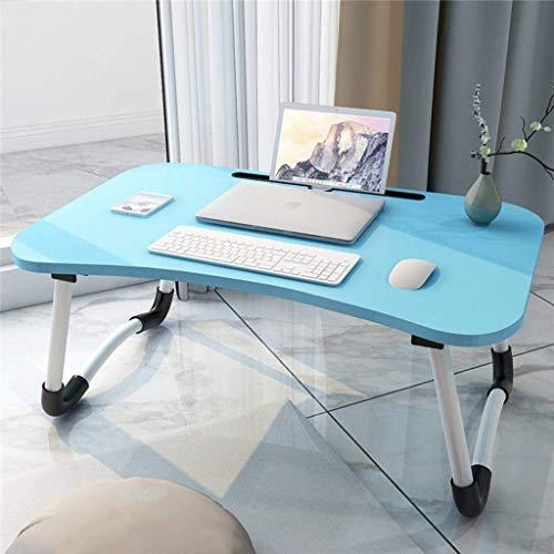 MotBach Cama Plegable Plegable de Mesa de Escritorio, Cama de Mesa para Laptop, para sofá Cama terraza balcón jardín Mesa Plegable (Color : D)