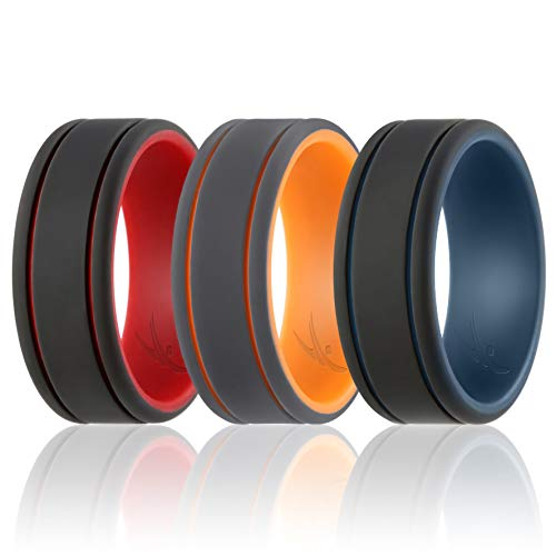 ROQ Ring - In Kürze, Lines: Grey, Black, Red, Blue, 10.5-11 (20.6mm)