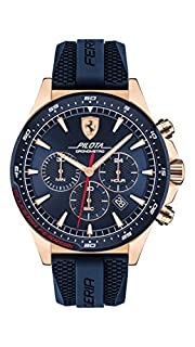 Scuderia Ferrari Herren Chronograph Quarz Uhr mit Silikon Armband 830621 (B07ND9N75J) | Amazon price tracker / tracking, Amazon price history charts, Amazon price watches, Amazon price drop alerts