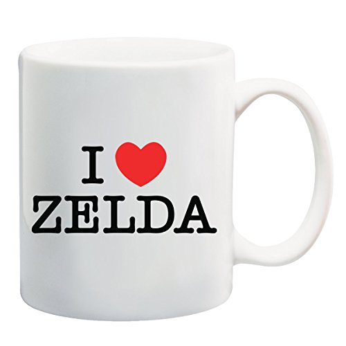 I Love Zelda Funny T-shirt mok