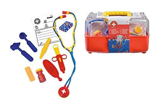 Simba 105544054 - Doktorkoffer 10-teilig
