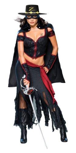 Secret Wishes Lady Zorro Costume