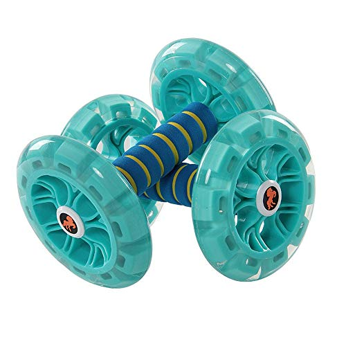 Qiutianchen Abdominal Rad Abdominal Rad Abdominal Rad Huge Fitness Roller Mute AB Weight Loss Fitnessgeräte for Home Gym Bauchtrainer for Home Gym Fitness (Color : Blue)