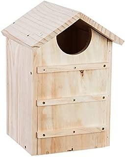 Evergreen Garden Screech Owl House Wooden Nesting Box