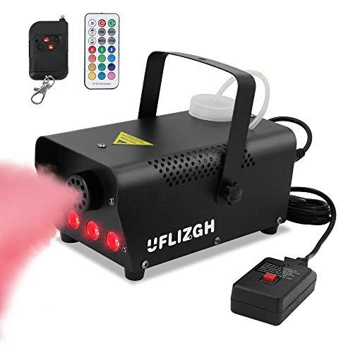 UFLIZOGH Máquina de Humo, 500W LED RGB...