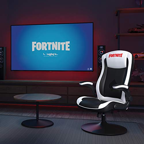 RESPAWN HIGH STAKES-R Fortnite Racing Style Rocker Rocking Gaming Chair...