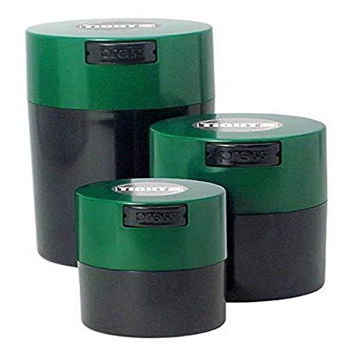 tightpac Amérique TIGHTVAC Corps avec Capuchons Boîte Vert foncé/Noir (Lot de 3)