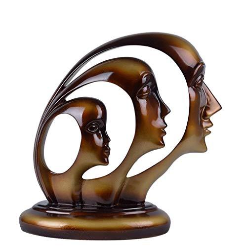 JYDQM Excepcionalmente Moldeado en poliresina Duradera: Impresionante Escultura de decoración del hogar