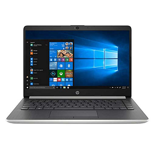 2018 Newest HP Premium High Performance Business Flagship Laptop PC 14' HD LED-Backlit Display Intel Pentium N5000 4GB DDR4 RAM 64GB eMMC Bluetooth Office 365 Personal 1-Year Windows 10 S, Silver
