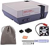 GeeekPi Retroflag NESPi Case + Plus y Ventilador de refrigeración y Bolsa de...