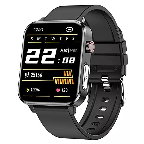 ZGZYL E86 Smart Watch Ladies Temperatura Cuerpo Tarifa De Respiración Blood Oxygen PPG + ECG CARAJE CORAZÓN RÁPIDO ANULTURAS Reloj DE PERSURA ANTICA Fitness Reloj Deportivo Reloj Deportivo,C