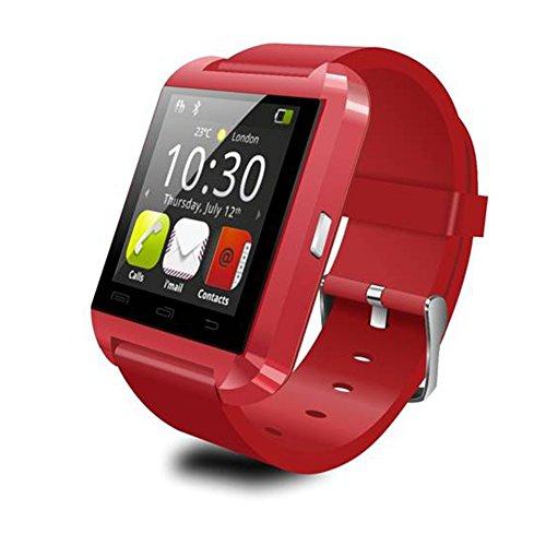 ParaCity Bluetooth inteligente reloj U8reloj de pulsera para IOS Android OS, Smartphones, iPhone 4/4S/5/5S/6samsung S5/S4/S3/Nota 3HTC Huawei Xiaomi