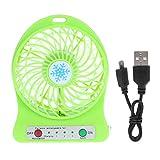 FJJ USB-Desktop-Mini-Ventilator, tragbar, PC-Kühler, super Stummschaltung, 1200 mAh,...