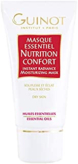 Guinot Masque Essentiel Nutrition Confort Instant Radiance Moisturizing Mask, 50 ml