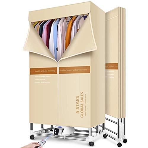 RUIMA Trockner Haushalts Schnell trocknend Kleidung Kleine Folding Trocknungsautomat 1600W Große Kapazität 15kg mit Fernbedienung Energieeffiziente Innen Nasse Wäsche Warmlufttrocknung Garderobe
