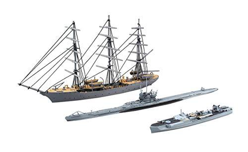 青島文化教材社 1/350 アイアンクラッドシリーズ<鋼鉄船> クリスチャンラディック&Sボート&Uボート プラモデル
