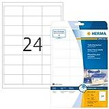 Herma 4389 - Pack de 600 etiquetas, 66 x 33.8 mm, color blanco