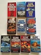 Clive Cussler (Dirk Pitt Set of 10) Pacific Vortex; Raise the Titanic ... Poseidon's Arrow; Havana Storm
