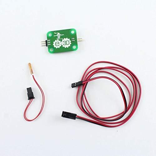 WNJ-TOOL, 1set Upgrade-V6 PT100 Kit PT100 Verstärker-Brett PT100A Temperatursensor Kabelsatz for Prusa V6 Hot End Reprap 3D-Drucker-Upgrade