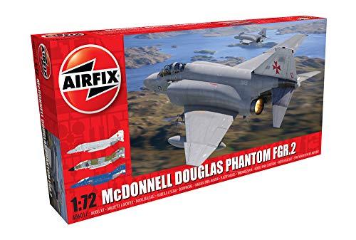 Airfix-1/72 Mcdonnell Douglas FGR.2 Phantom Model, Color Gris (Hornby Hobbies LTD A06017)