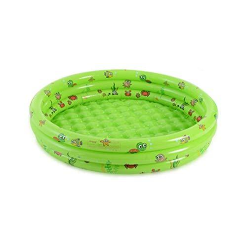 DFSDG Piscina Inflable para niños Natación Bebé Agua Play Bañera Bañera Centro Familia al Aire Libre Ambientalmente PVC niños Juguetes para Adultos Verano (Color : 116 * 98 * 38cm)
