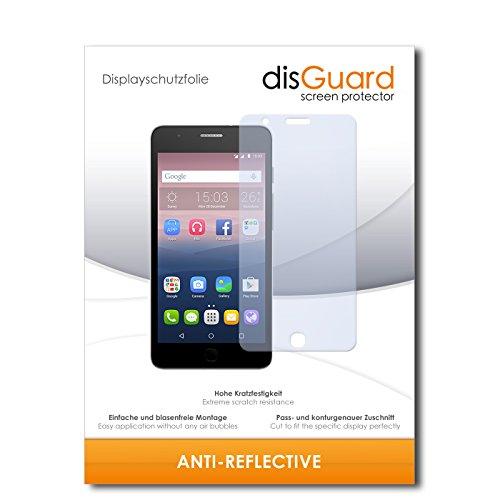 disGuard Bildschirmschutzfolie für Alcatel One Touch Pop Up [4 Stück] Anti-Reflex, MATT, Entspiegelnd, Extrem Kratzfest, Anti-Fingerabdruck - Bildschirmschutz, Schutzfolie, Panzerfolie