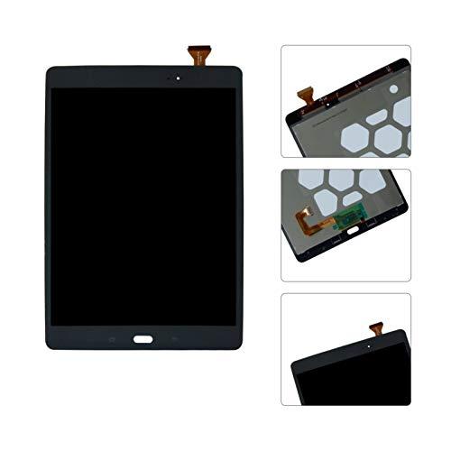 Kit de repuesto de pantalla para Samsung Galaxy Tab A SM-T550 T550N T555 Pantalla LCD Digitalizador de pantalla táctil de montaje Kit de reparación de repuesto (color: negro)
