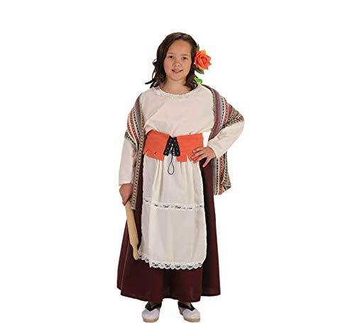 Creaciones Llopis Disfraz de Panadera Medieval para nia