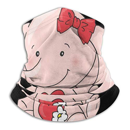 Nette schöne Elefant Kopfbedeckung Hals Gamasche wärmer Winter Skiröhrchen Schal Maske Fleece Gesichtsschutz Winddicht für Männer Frauen personalisiert