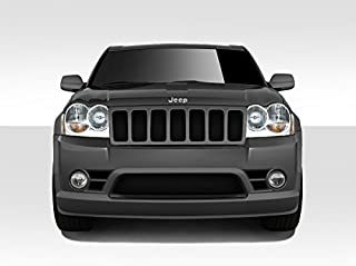 Brightt Duraflex ED-OVX-561 Look Front Bumper Cover - 1 Piece Body Kit - Compatible With Grand Cherokee 2005-2007