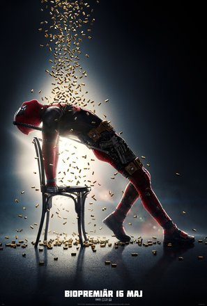 Deadpool 2 – Ryan Reynolds – Swedish Movie Wall Poster Print - A4 Size Plakat Größe Flashdance